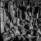 «Vista de la azotea de Manhattan» de Nicklas Gustafsson