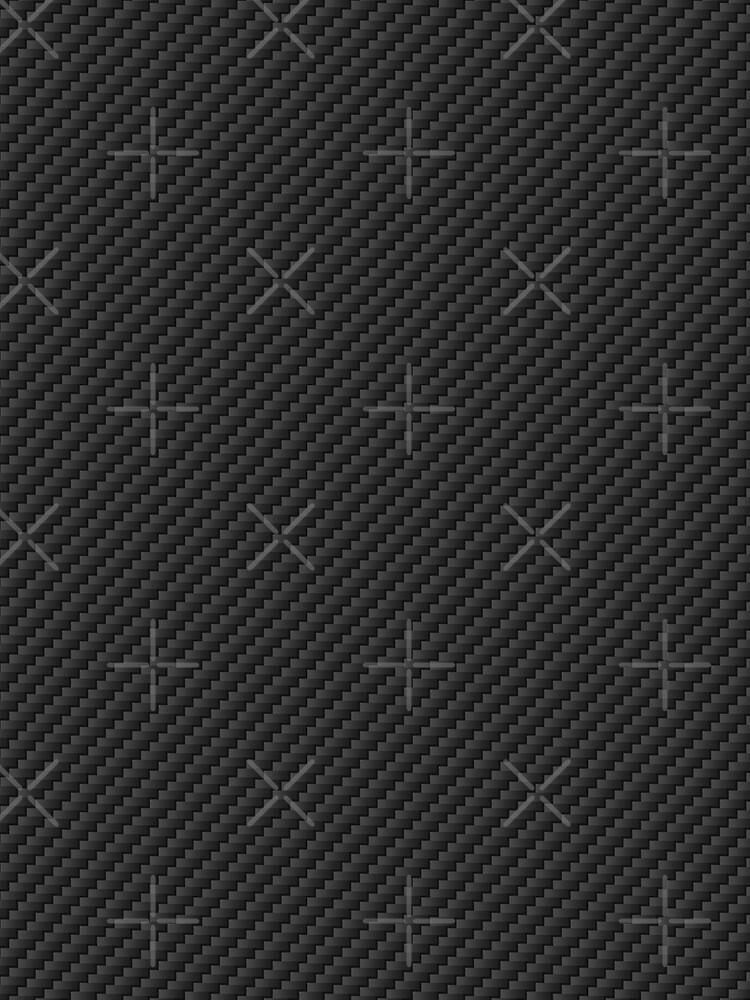 Carbon Fiber Textile Print by Satori-Kensho
