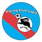«Racing Club Lapin Blue / Red Crest» de JoelCortez