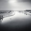 Charmouth - bw by Dorit Fuhg