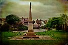 The War Memorial and Village Pond at Rottingdean by Chris Lord