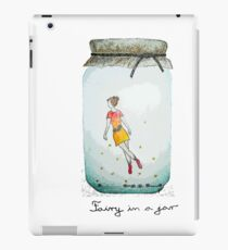 Fairy in a jar iPad Case/Skin