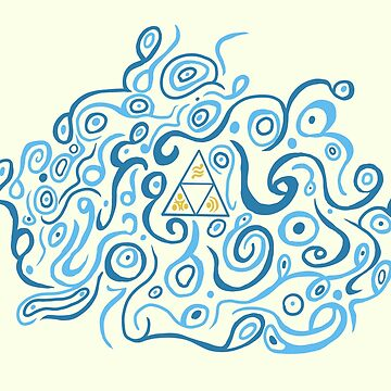 Triforce Breath of the wild pattern The legend of Zelda by moonfist