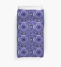 Psychodelia Purple Black and White Groovy Art - Trippy Design Gift Duvet Cover