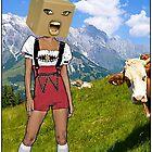 «Bavarian Box Head Girl» de JoelCortez