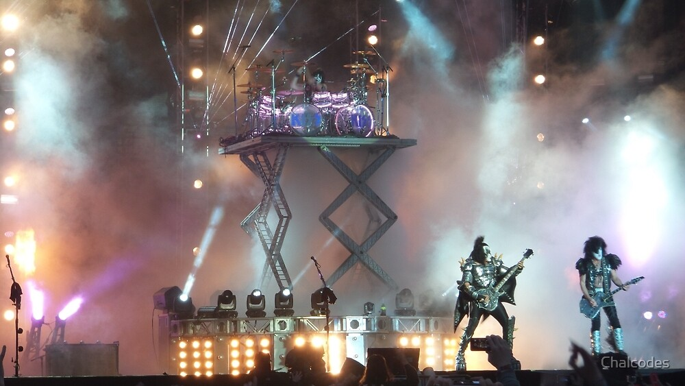 KISS live at Download 2015 by Chalcodes