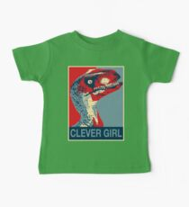 Raptor Propaganda - Clever Girl  Kids Clothes