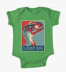 Raptor Propaganda - Clever Girl  One Piece - Short Sleeve