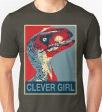 Raptor Propaganda - Clever Girl  Unisex T-Shirt