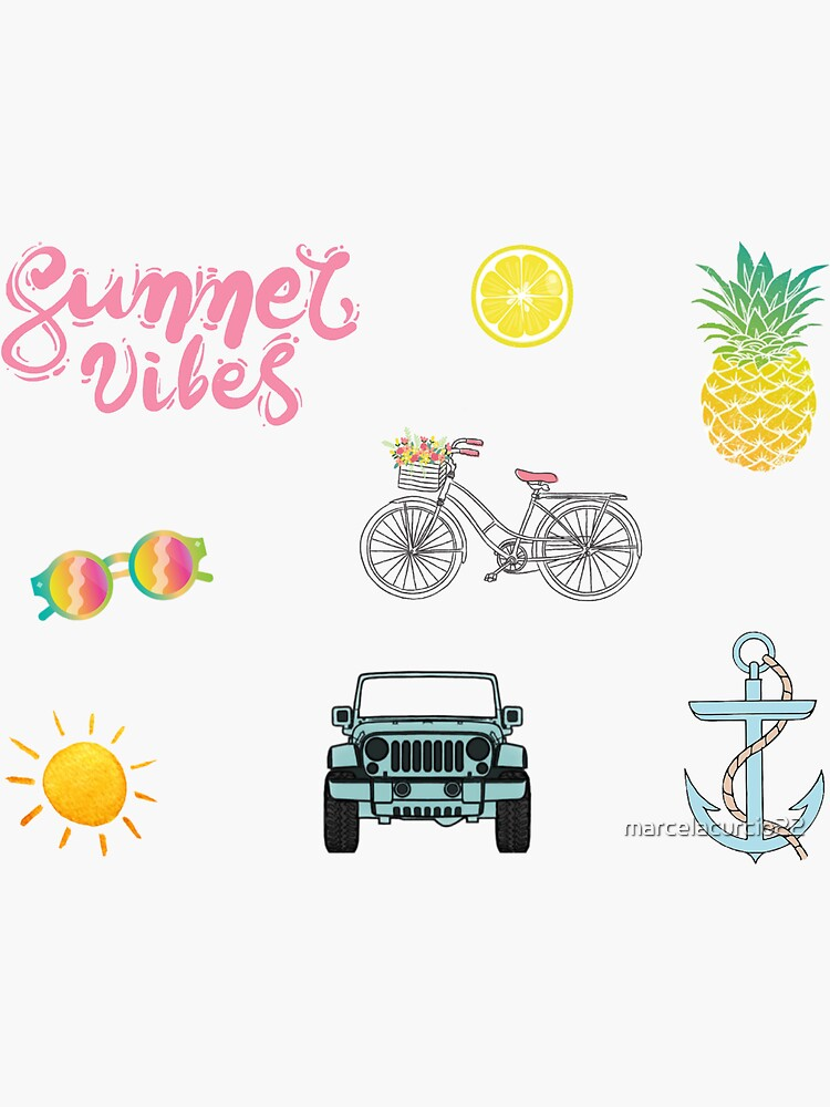 Sommer-Ästhetik-Pack von marcelacurcio22