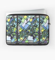 ABSTRACT MAP OF STATE COLLEGE, PA Laptop Sleeve