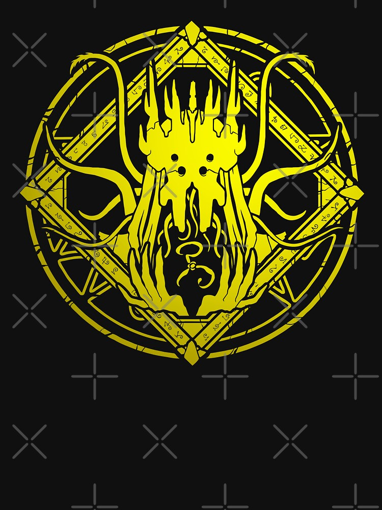 The King in Yellow - Hastur - Circle design by zachholmbergart