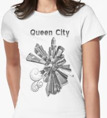 Charlotte, black and white T-Shirt