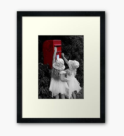 First Post Framed Print