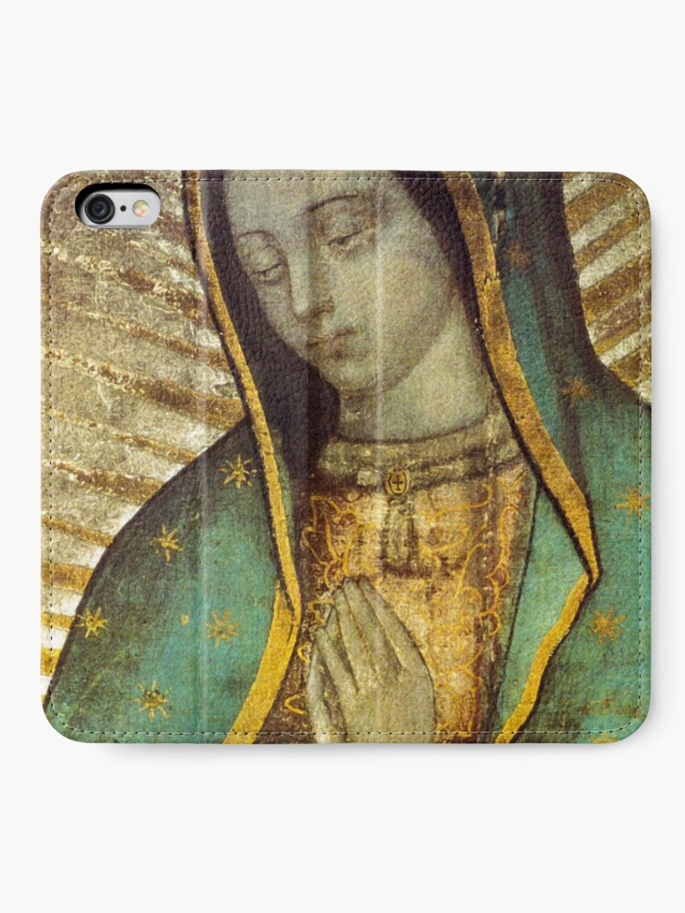 Alternate view of Our Lady of Guadalupe iPhone Wallet