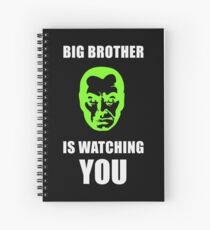 NSA - Big Brother is Watching You Spiral Notebook