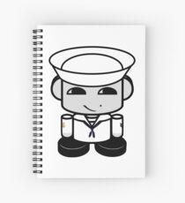 HERO'BOT Sailor Li Yi Spiral Notebook