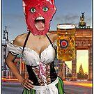 «Cabeza de filete alemana cerveza chica» de JoelCortez