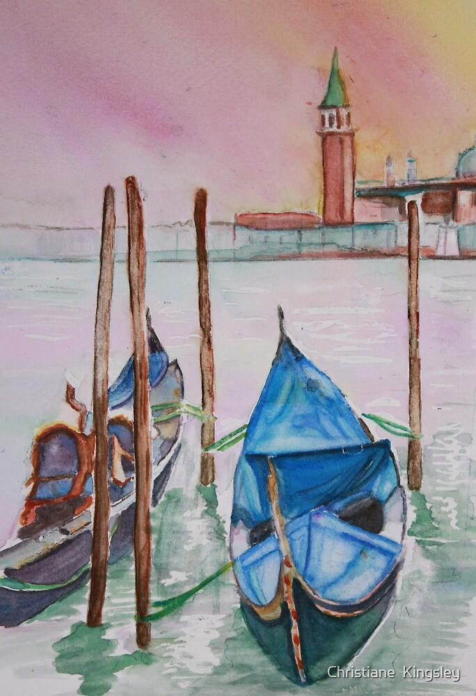 Gondolas on Break by Christiane  Kingsley