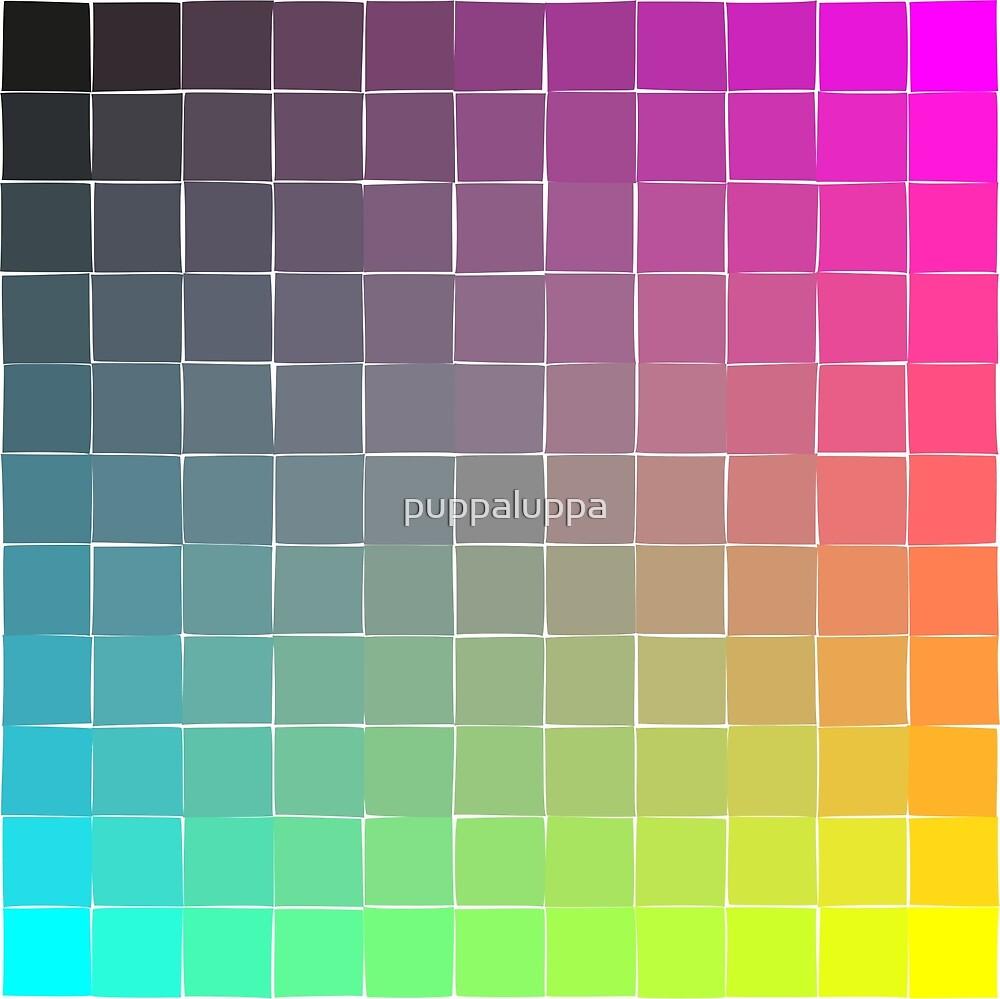 Rainbow squares by puppaluppa