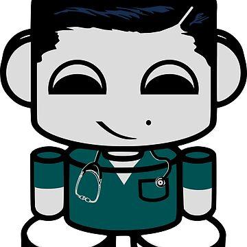 HERO'BOT Nurse Jimmy Derham by carbonfibreme