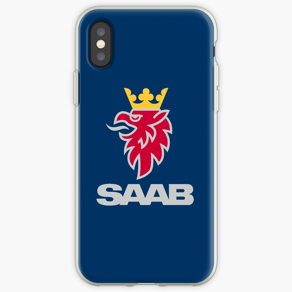 Saab-Logo-Produkte iPhone-Hüllen & Cover
