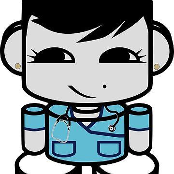 HERO'BOT: Nurse Jae Yo by carbonfibreme