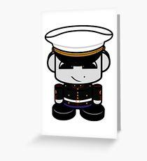 HERO'BOT Mariner Xander Lion Greeting Card