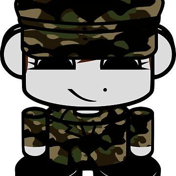HERO'BOT Army Corps Member Embla Sampson by carbonfibreme