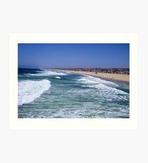 Enjoy Life-Hermosa Beach, California Art Print