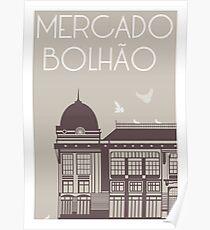 Mercado Bolhão Poster