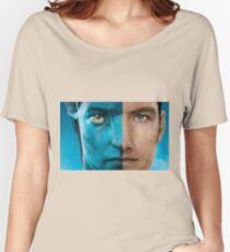 Man face portrait Women's Relaxed Fit T-Shirt