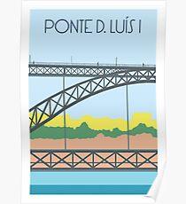 Ponte D. Luís I Poster