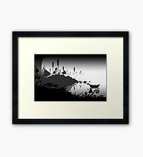 The Shoreline Framed Print