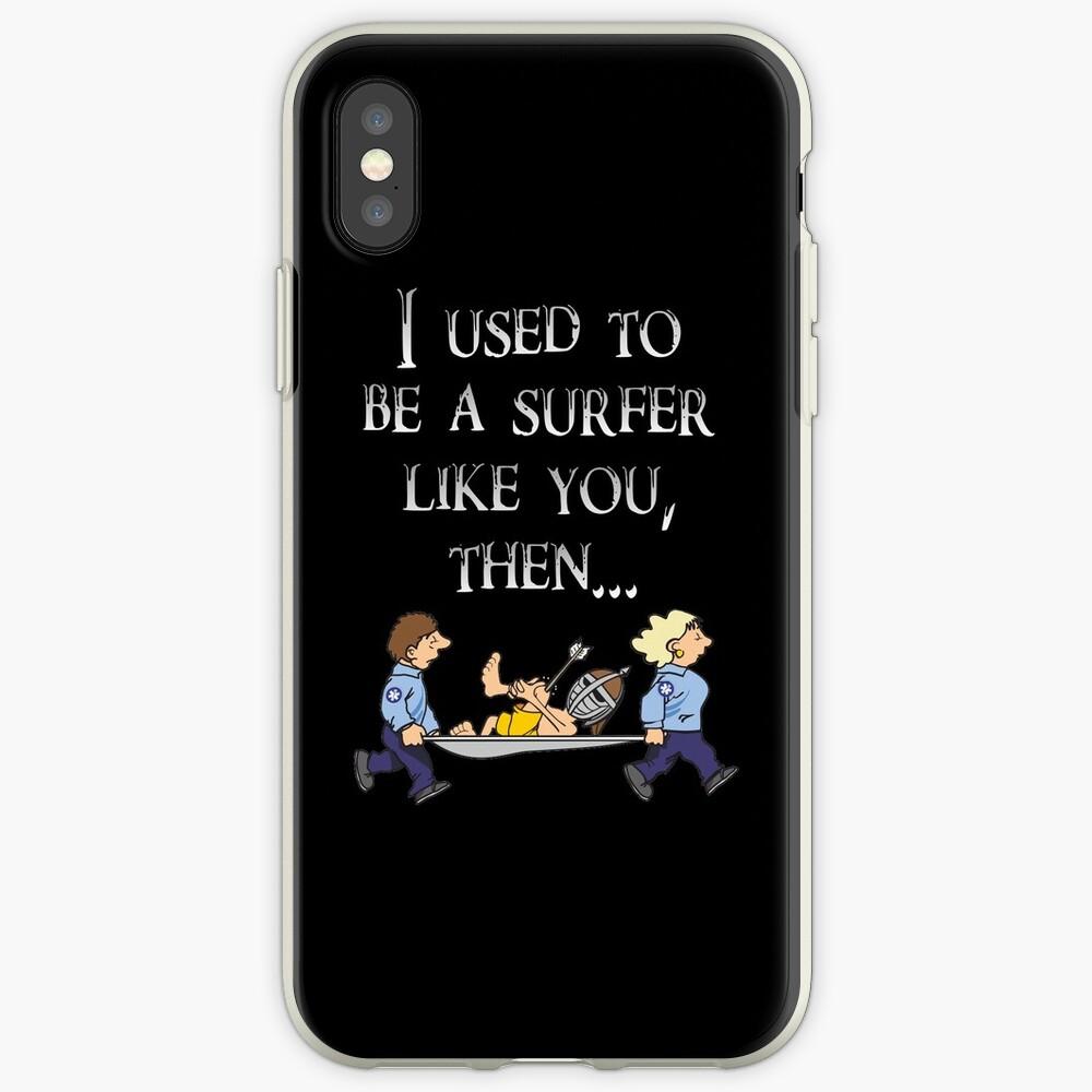 Skyrim Town Guard Surfer iPhone-Hüllen & Cover