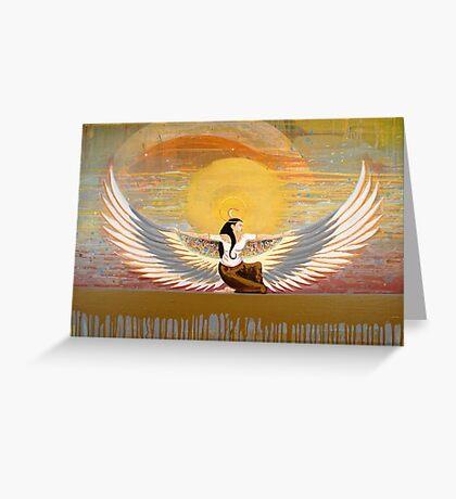 The Last Pharoah Greeting Card
