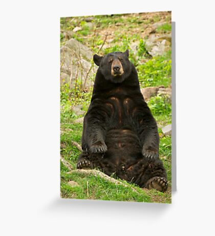Tough day at the office Greeting Card