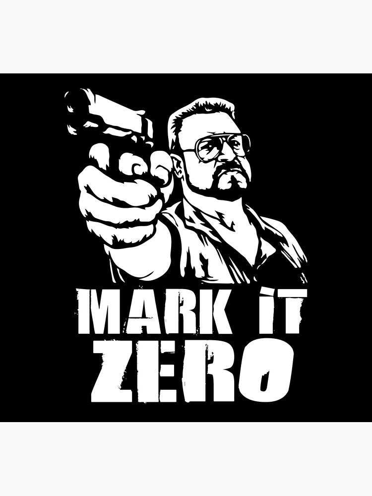 Der Big Lebowski Mark es Null von Adik
