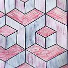 Hip to Be Square - Op Art by caroleighdeneen