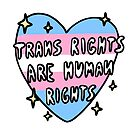 trans rights are human rights by nevhada