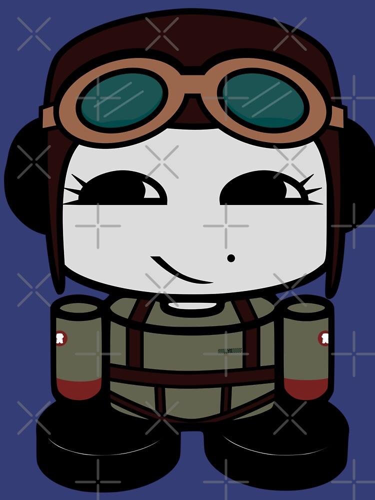 HERO'BOT Pilot Vivian Yi by carbonfibreme