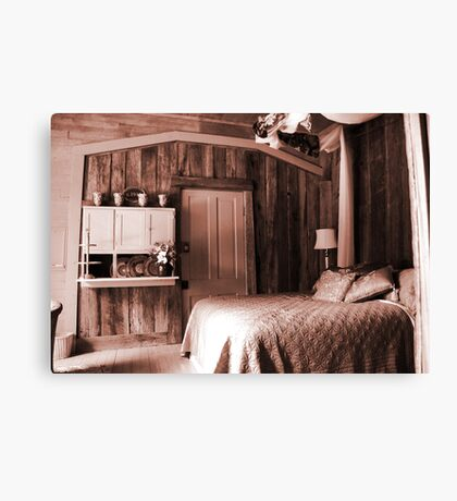 Bedroom at the Old Hashienda Canvas Print