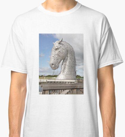 The Kelpies sculptures , Helix Park, Scotland Classic T-Shirt
