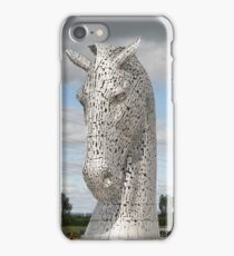 The Kelpies sculptures , Helix Park, Scotland iPhone Case/Skin