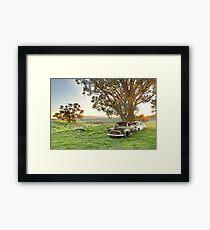 End of the Road, Bendigo, Australia Framed Print