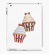 Cupcakes im Kawaii Stil iPad-Hülle & Klebefolie