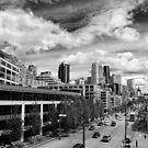 DownTown Seattle on a Bright and Sunny Day by Jenny Miller