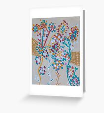 'Enchanted Blossoms' by Gabby Liset (2015) Greeting Card