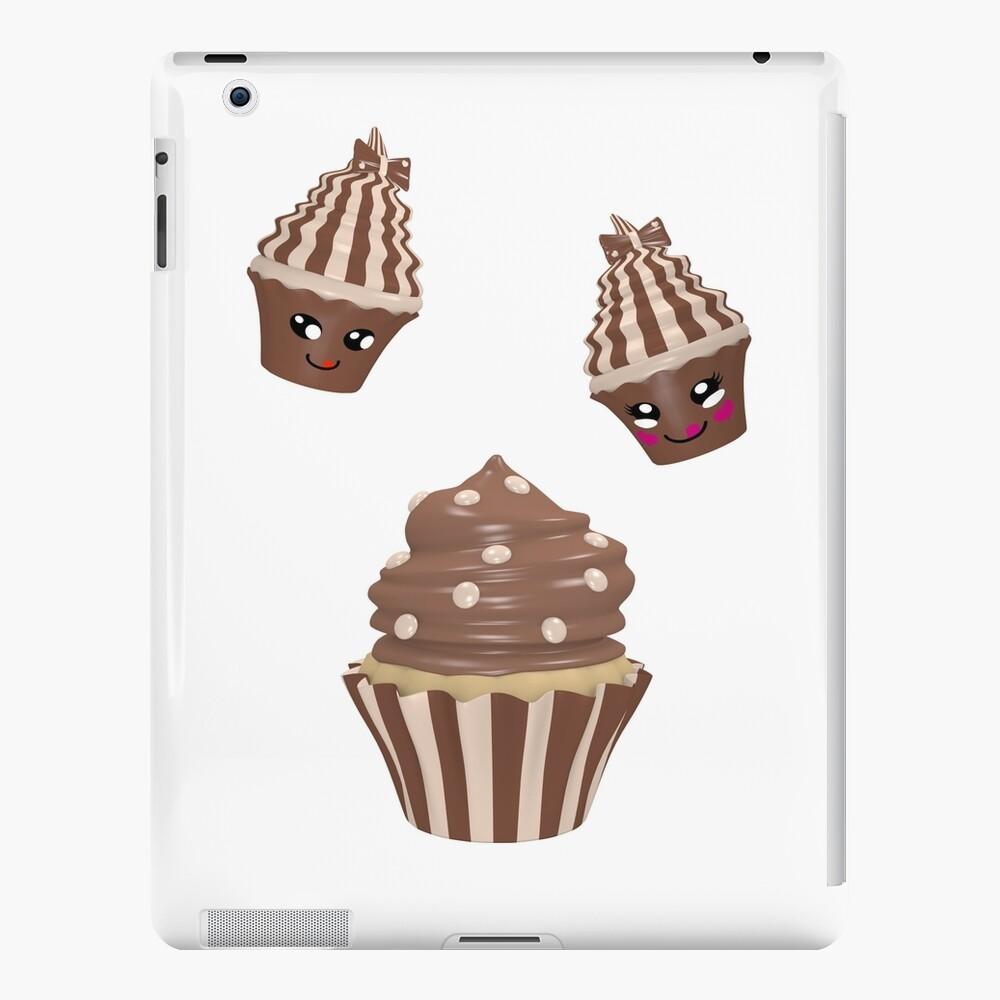 Schokoladen Cupcake iPad-Hülle & Skin