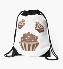 Schokoladen Cupcake Rucksackbeutel